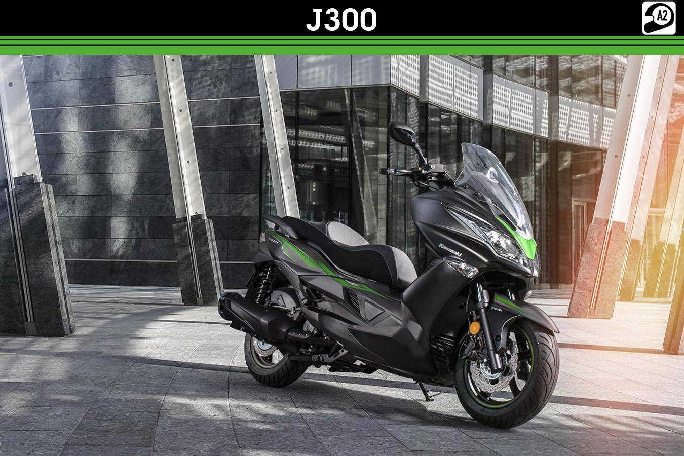 Kawasaki J300 motorscooter