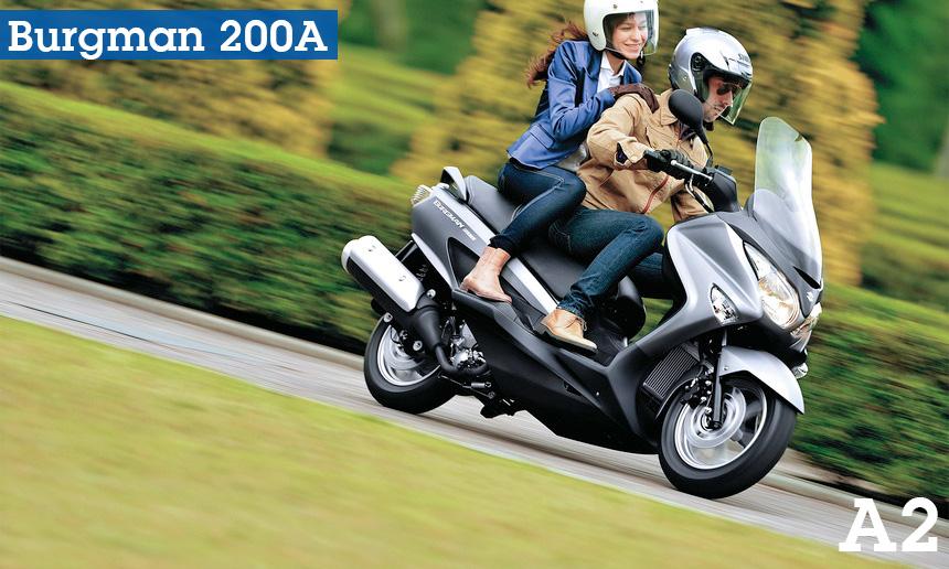 Suzuki Burgman 200A