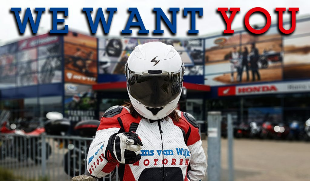WE WANT YOU - Vacatures
